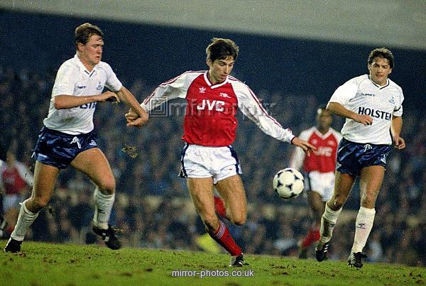 Football Arsenal v Spurs 1989