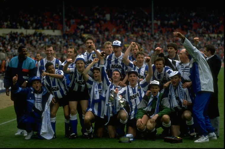 The Sheffield Wednesday team
